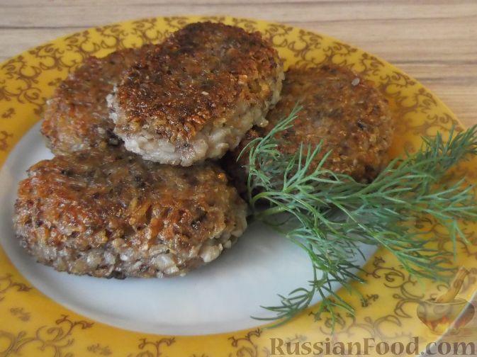 Рецепт Котлеты из гречневой каши с картофелем