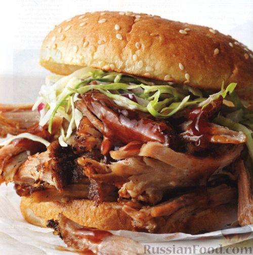 Рецепт Бургеры со свининой
