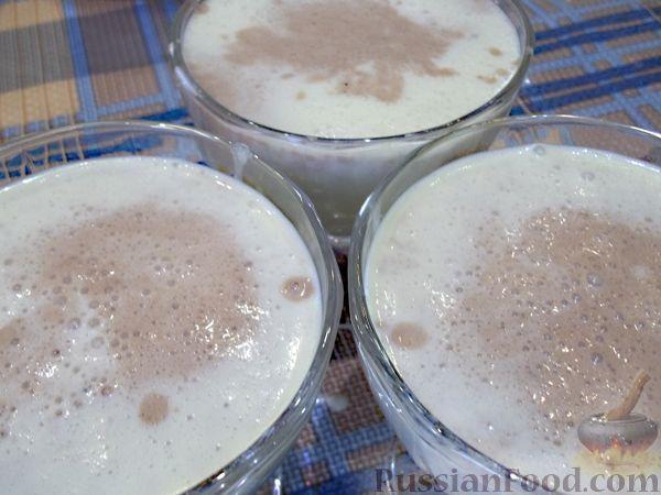 пошаговые фото рецепты молочных суфле с желатином