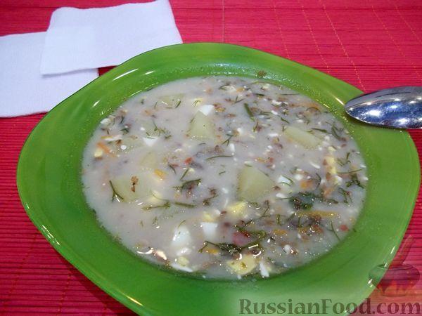 Рецепт Суп с плавленым сырком