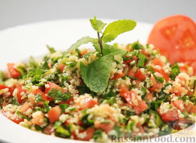 Рецепт Табуле - ливанский салат с булгуром