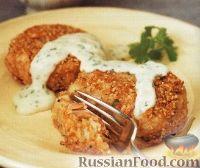 Фото к рецепту: Картофельно-рыбные котлеты