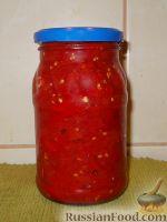 Фото к рецепту: Лечо из красных помидоров