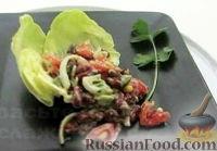 Фото к рецепту: Салат из красной фасоли с авокадо
