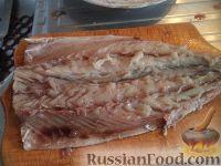Фото приготовления рецепта: Скумбрия, запеченная с овощами - шаг №2