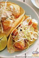 Фото к рецепту: Рыбная закуска в кукурузных лепешках