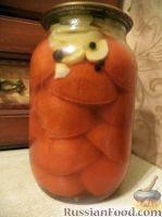 Фото к рецепту: Дольки помидоров в желатиновой заливке