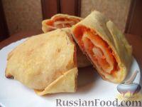 Фото к рецепту: Вертута с тыквой по-молдавски