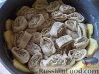 Фото приготовления рецепта: Штрудли с мясным фаршем - шаг №10