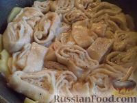 Фото приготовления рецепта: Штрудли с мясным фаршем - шаг №13