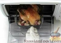 Фото к рецепту: Курица с чесноком