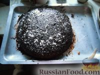 """Фото к рецепту: Торт """"Шоколад в снегу"""""""