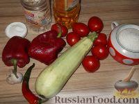 Фото приготовления рецепта: Кабачки «Тещин язык» - шаг №1
