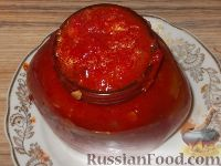 Фото приготовления рецепта: Кабачки «Тещин язык» - шаг №9