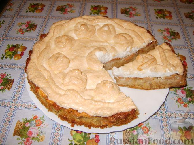 Рецепт Яблочный пирог с зефиром