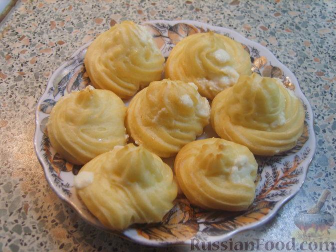 Рецепт Заварные пирожные с кремом
