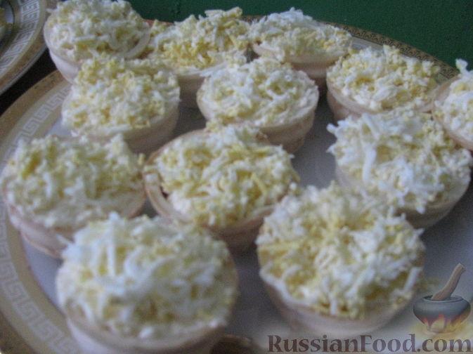 Рецепт Сырные корзинки