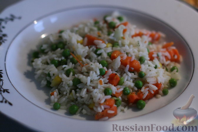 Рецепт Рис с овощами по-турецки