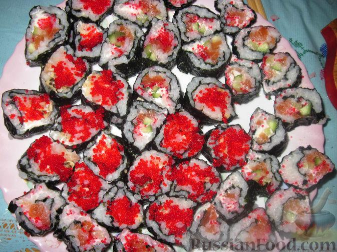 Рецепт Суши домашние