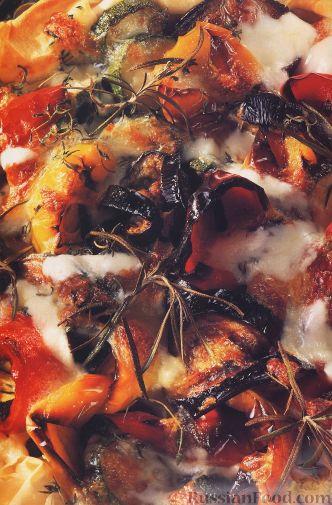 Рецепт Пирог с овощным соте