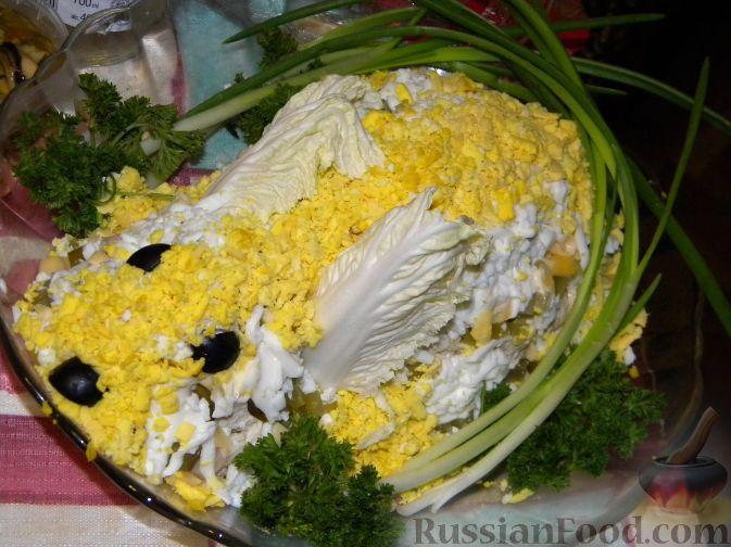 """Рецепт Салат """"Новогодний кролик"""" )))"""