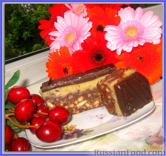 Рецепт Пирожное с тоффи