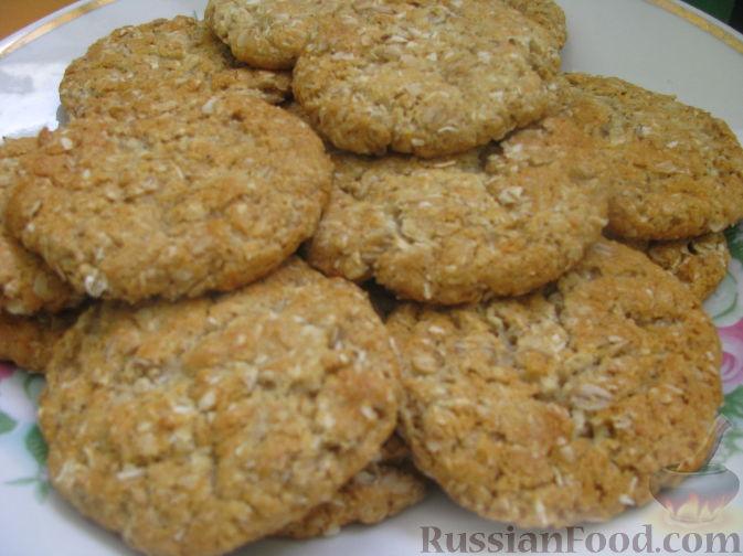 Рецепт Овсяно-кокосовое печение