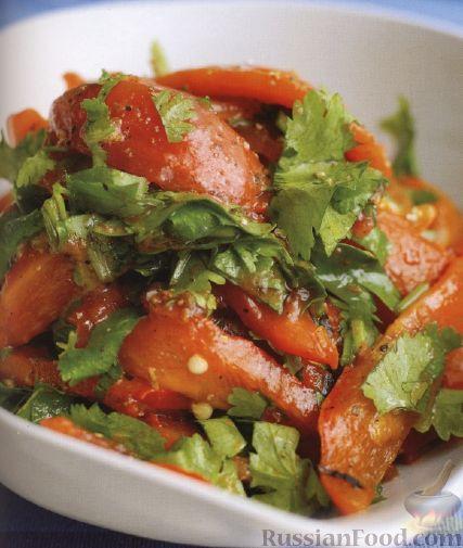 Рецепт Салат из печеных овощей
