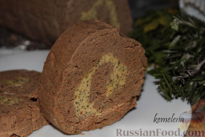 Рецепт Печеночный паштет с травами