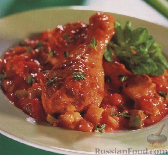 жареные куриные бедрышки на сковороде рецепт с фото