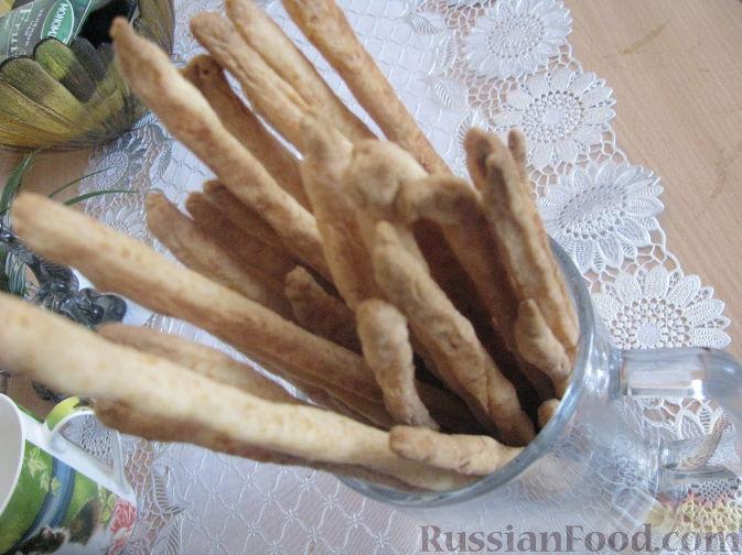 Рецепт Сырная соломка