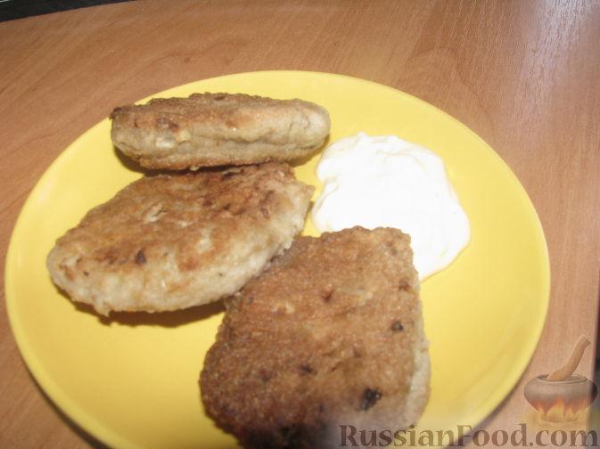 Рецепт Рыбные котлеты из консервы