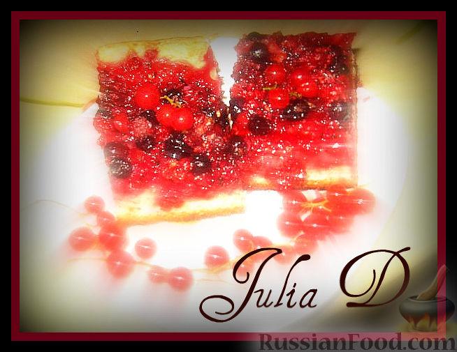 Рецепт Песочный пирог с ягодами