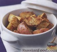 Фото к рецепту: Жареный картофель