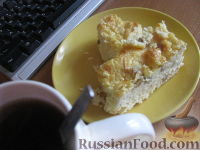 Фото к рецепту: Творожная запеканка с сухофруктами