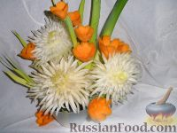 Фото к рецепту: Овощной букет