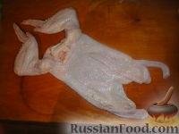 Фото приготовления рецепта: Курица, фаршированная блинами - шаг №1