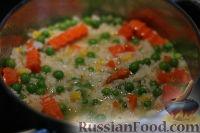 Фото приготовления рецепта: Рис с овощами по-турецки - шаг №4