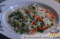 Фото приготовления рецепта: Рис с овощами по-турецки - шаг №5