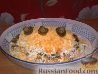 "Фото к рецепту: Салат ""Мимоза"""