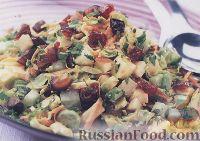 Фото к рецепту: Овощной салат с брюссельской капустой