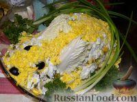 """Фото к рецепту: Салат """"Новогодний кролик"""" )))"""