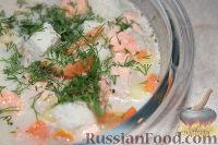Фото к рецепту: Рыбный суп Lohikeitto