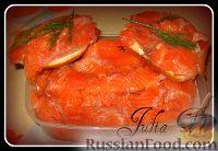 Фото к рецепту: Форелька, засоленная в домашних условиях