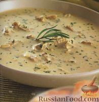 Фото к рецепту: Куриный суп с эстрагоном