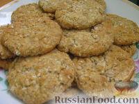 Фото к рецепту: Овсяно-кокосовое печение