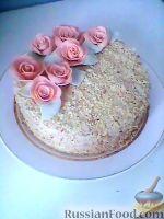 """Фото к рецепту: Торт """"Нежность"""""""
