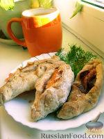 Фото к рецепту: Расстегаи с семгой
