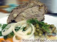 Фото к рецепту: Свиной окорок