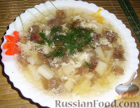 "Фото к рецепту: Суп ""Груздянка"""